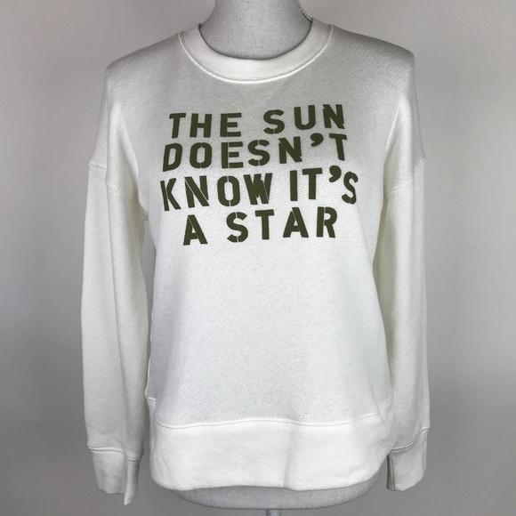 e15f5b76f62 Madewell Tops   Sun Doesnt Know Its A Star Sweatshirt   Poshmark